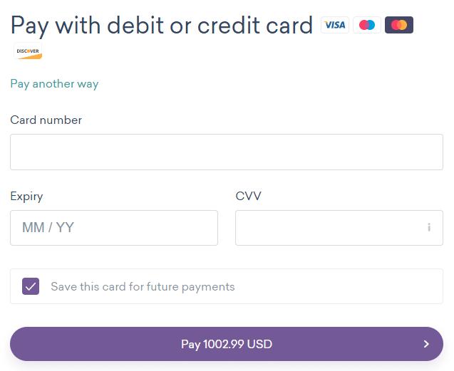 worldremit填写付款账号信息